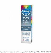 PLUSSSZ MANN - 20 Brausetabl. Vitamine und Mineralstoffe für Männer