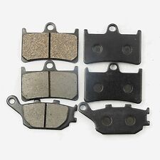 Front+Rear Brake Pads For Yamaha YZF R6 2003-2005 YZF R1 2004-2006 FZ1 2006-2012