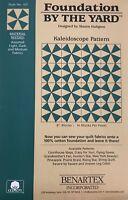 Kaleidoscope Benartex Quilt Fabric Foundation by the Yard 16 8in Blocks 107