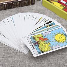 78Pcs Tarot Deck Cards Vintage Board Games English Full Version Game