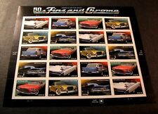 US Stamp Scott# 4357a Automobiles of the 1950's  2008  Pane of 20  MNH BKL24