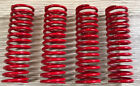Shock Spring Set (RED-4PCS) For Smartech Nutech Carson Turnigy ONROAD 1/5 RC