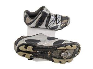Giro Sica Womens US 6.5 EUR 38 Gray Silver Road Cycling Shoes