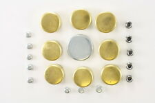 Brass Freeze Plug Kit  sbc Chevy GMC 283 305 307 327 350 V8 PK1B or PE-100-BR