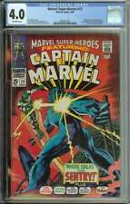 Marvel Super-Heroes #13 CGC 4.0 1st App Carol Danvers Becomes Ms Marvel