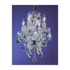 Classic Lighting Daniele Crystal Mini-Chandelier, Chrome - 8374CHI