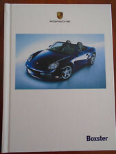 Porsche Boxster range brochure Mar 2005 hardbacked
