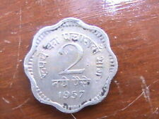 INDIA 1957 2 PAISE COIN