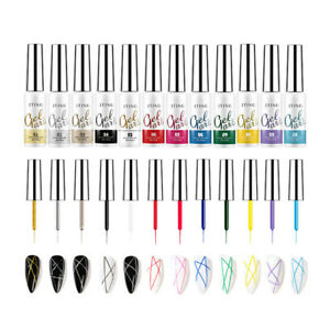 Line Art Gel 12 mL/0.42 oz Gel Art Color Professional Use *Pick ur Color