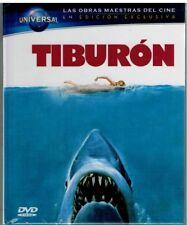 Tiburon (Jaws)  (DVD + Libro Edición Exclusiva - Nuevo)