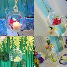 Clear Plastic Candy Box Ball Ornament Transparent Wedding Party Xmas Favor Decor