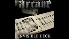 Bicycle Ellusionist Arcane White Invisible Deck Magic US Playing Cards Poker New