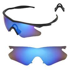 New WL Polarized Ice Blue Sunglasses Lenses For Oakley M Frame Heater Sunglasses