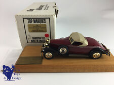 1/43 TOP MARQUES ROLLS ROYCE PH II HENLEY ROADSTER 1932 CHASSIS 285AJS N°45/50