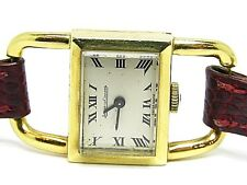Vintage JAEGER LE-COULTRE 60's Solid Yellow Gold 18k. Ladies Size Watch
