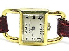 VINTAGE JAEGER-COULTRE anni'60 LE Solido Oro Giallo 18k. Orologio Donna con dimensioni