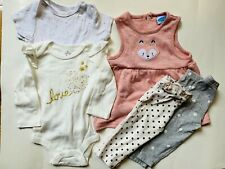 Baby Girl Summer Clothes 6-9 months Lot of 8 Euc