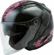 Pink Convertible Motorcycle Helmets For Sale Ebay