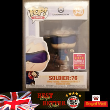 Funko Pop Overwatch Soldier 76 #346 2018 SUM CON LIMITED EDITION POP Protected