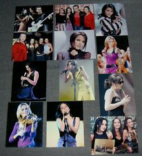 12 x THE CORRS 10 x 8 PHOTOS SET,LOT 1.GREAT PHOTOS,ANDREA CORR,POP,ROCK GROUP.V