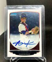 2013 Bowman Draft Chrome Prospect Andrew Knapp Auto BCA-AK Autograph Phillies RC