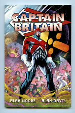 CAPTAIN BRITAIN TPB Alan Moore & Davis THE FURY X-Men Excalibur Marvel OOP NM