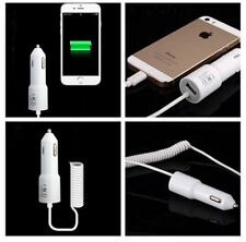 Travel Car Charger Adapter Cable Rocket Style Cord For iPhone 6 6s plus 5 5c 5s