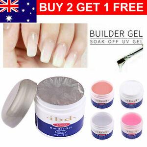 Supple Smooth IBD UV Hard Builder Gel 56g Nail Art Nail Manicure Beauty Salon