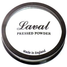 New Laval Creme Compact Pressed Face Powder Foundation -407 White