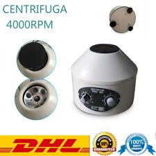 Labor Zentrifuge Tischzentrifuge 4000U/min Centrifuge 6X20ml Angle Rotor