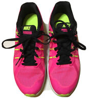 Nike Air Max Dynasty Girl Kid's Shoe Sz 7Y Pink, White, Bright green 820270-600