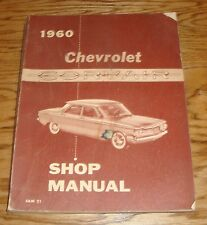 Original 1960 Chevrolet Corvair Shop Service Manual 60 Chevy