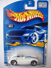 Hot Wheels CUNNINGHAM C4R - White 2001 First Editions #31/36 Coll 051 roadster