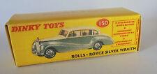 Repro Box Dinky Nr.150 Rolls-Royce Silver Wraith