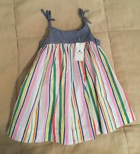 Baby Gap Baby Girl Cotton Summer Dress 6-12 months New With Tags