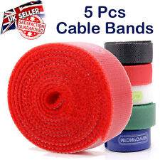 5 Pcs - NTONPOWER MC1 Nylon Cable Winder Ties Wrapped Cord Line Reusable Wire Or