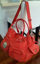 ♡♡Mimco Peach Lucid Baby Nappy Gym Travel weekend shoulder strap cross body Bag