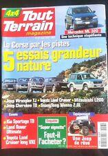 4 x 4 Magazine N°97 du 8/1997; Mercedes ML 320/ Jeep Wrangler TJ/ Toyota Land Cr