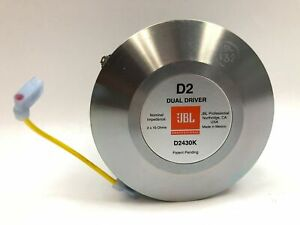 JBL D2430K High-Frequency Compression Dual Driver NWOB