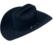 Men's Serratelli 3x Wool Felt Western Cowboy Hat Made In USA Cali Style Brim