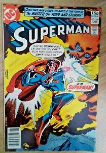 DC~SUPERMAN #348~VFn~Pence Variant~Bag/Board~