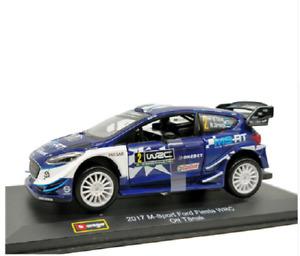 Bburago 1:32 2017 M-Sport Ford Fiesta WRC Ott Tanak Diecast Model Race Car