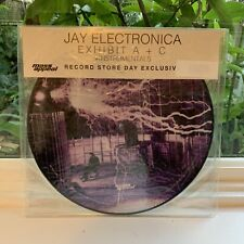 Jay Electronica - Exhibit A + C + Instrumentals Picture Disc RSD 2015 NEW