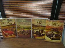 Classic Cars Four DVD set Morgan / Austin / Triumph / Vauxhall