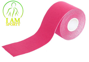(1,38€/m) Kinesiologie Tape 5cm x 5m PINK Tapes Klebeband Tapeverband Sport