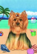 Beach House Flag - Yorkshire Terrier Yorkie 69010