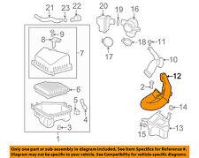 Pontiac GM OEM 09-10 Vibe Air Cleaner Intake-Intermed Duct 88975813