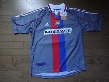 Olympique Lyonnais 100% Original Gold Jersey Shirt L 2000/01 Away Still BNWT