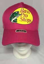 Women's Bass Pro Shops Fishing Hat Pink Mesh Sports NEW