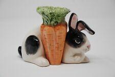 Fitz & Floyd Kensington Dutch Rabbit Candle Holder